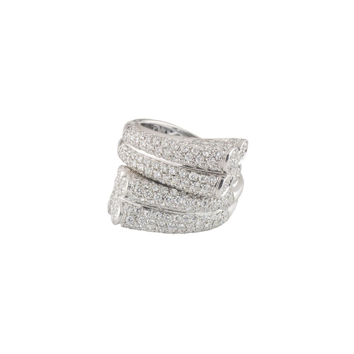 White GoldDiamond Ring 2.44ct G/VS